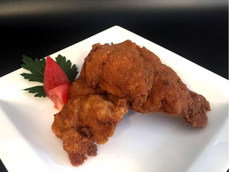 Rántott csirkecombfilé
