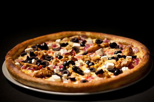 Görög gyros pizza