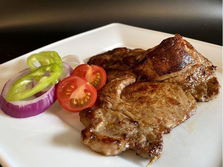 Grillezett sertéstarja