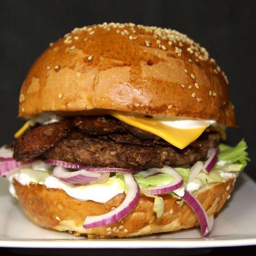 Magyaros burger