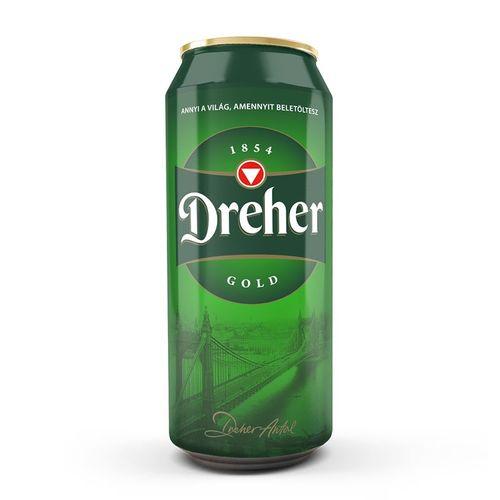Dreher (0,5l dobozos)
