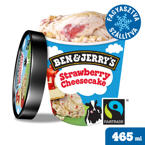 Ben&Jerry's Strawberry Cheesecake 465ml