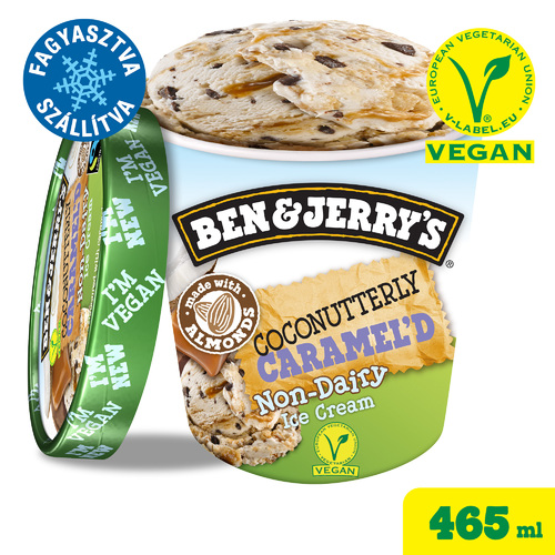 Ben&Jerry's Vegán Coconutterly Caramel'd 465ml