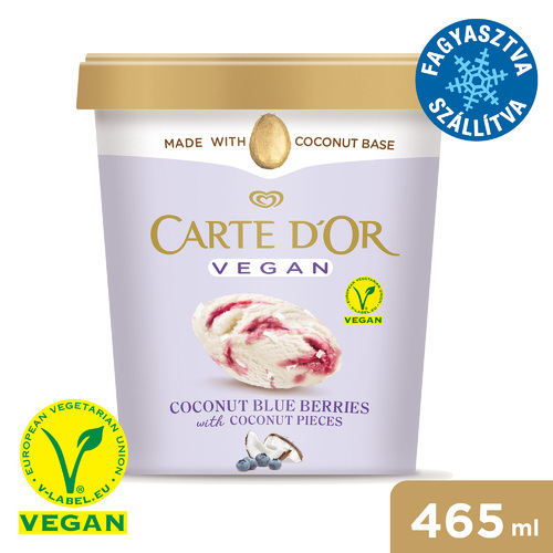 CARTE D'OR Vegán Kókusz & Blueberry jégkrém 465ml