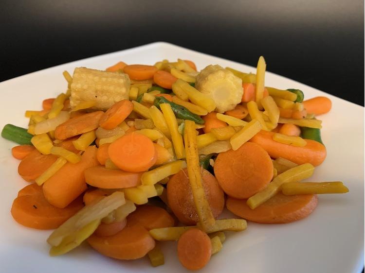 Grillezett wok zöldségmix