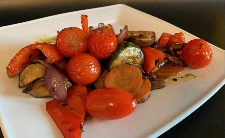 Friss grill zöldségek