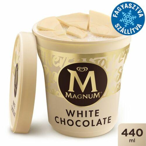 Magnum Poharas Fehér Csokoládés Jégkrém 440ml