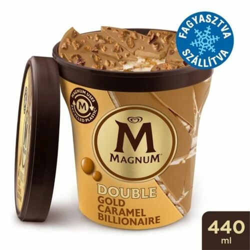 Magnum Poharas Dupla Gold Karamell Jégkrém 440ml